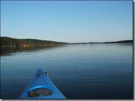 kayaking - almost glass