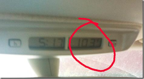 103 degrees