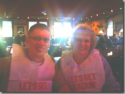 Joe's Crab Shack - Nate and Tonya