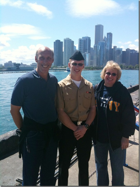 John Nate and Tonya Navy Pier