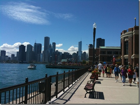 Chicago and Navy Pier