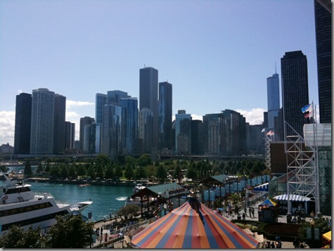 Chicago from Ferris Wheel