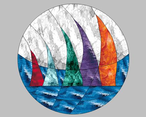 Sailboats Pattern