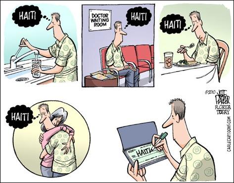 Haiti cartoon