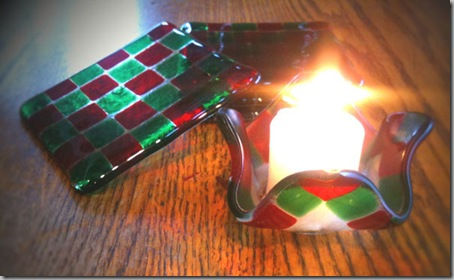 Christmas-candle-holder-with-coasters-2