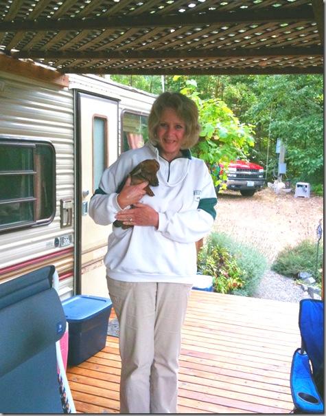 Helen and Chibi 09-04-10
