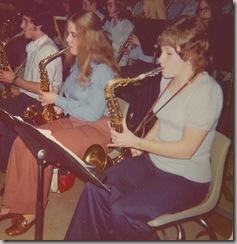 Helen and Tonya Pep Band