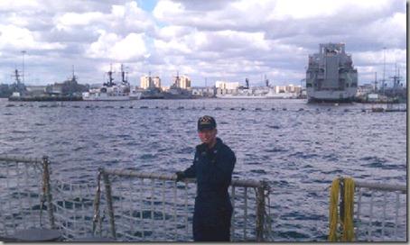 On Board USS Halsey