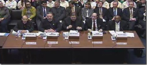 birth control witness panel -- all men - GOP hearing on proposed birth control benefit measure