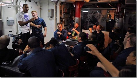 Nate the Navy Clown