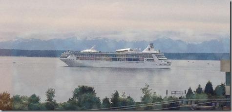 Seattle Cruise Ship 6-15-12