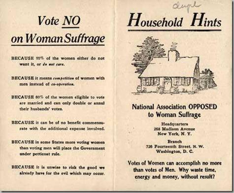 Against Women Vote