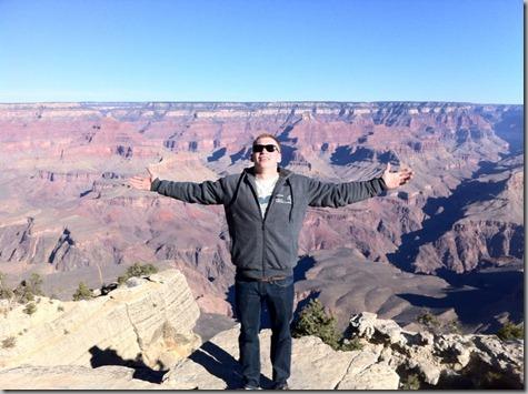 Nate at Grand Canyon 11-15-12