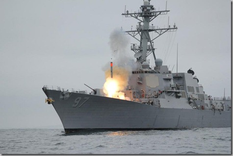 Nate's Ship Firing a Missile