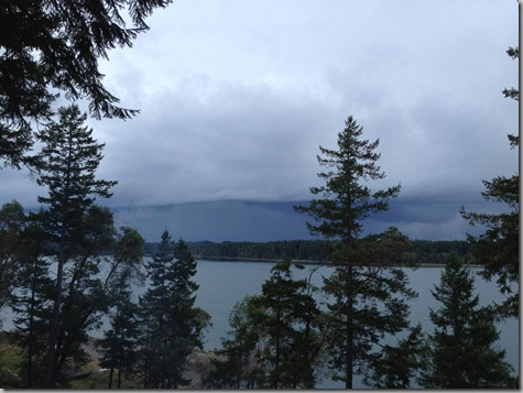 Storm Coming After Walk 10-21-12