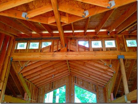 Clerestory windows from inside-2 7-20-13