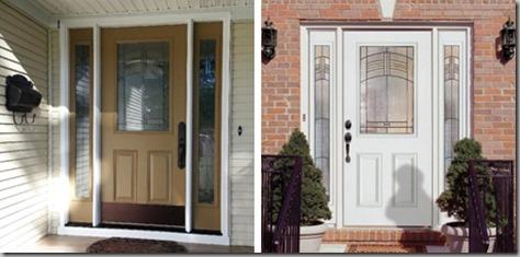 Entry door composite