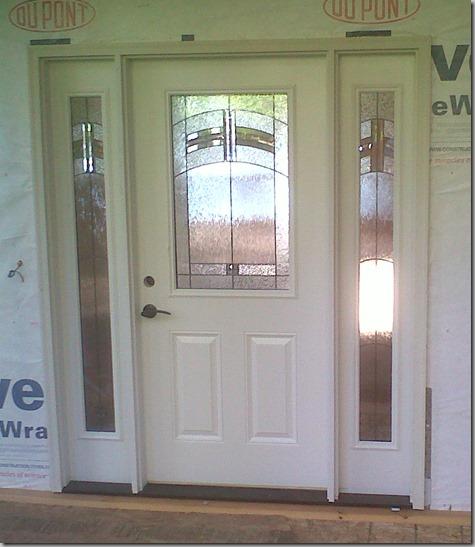 Entry Door Installed 7-23-13