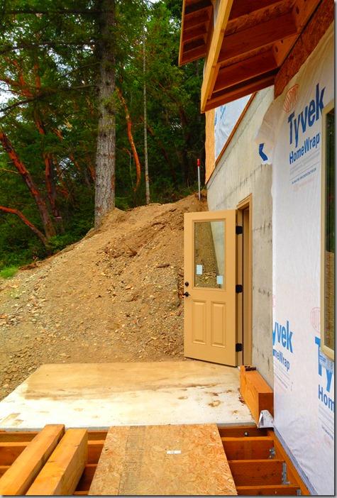 Shop door installed 7-21-13