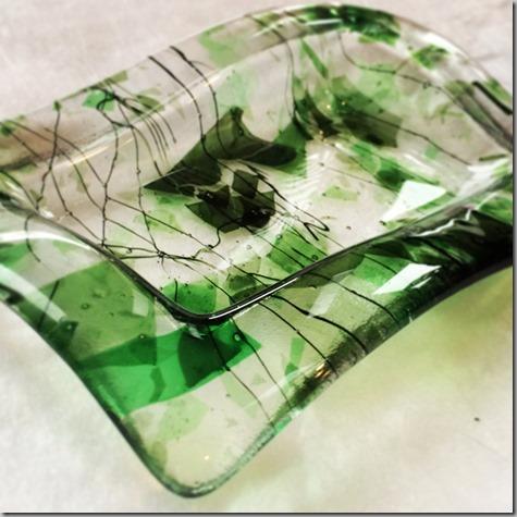 Green dish-2