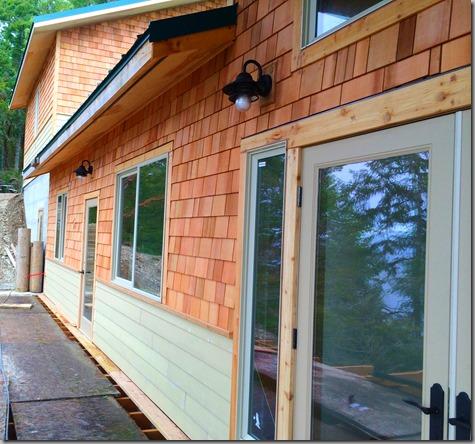 Waterside Siding Toward Garage-Shop 1-18-14