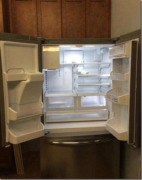 Fridge in pantry open 1-17-14