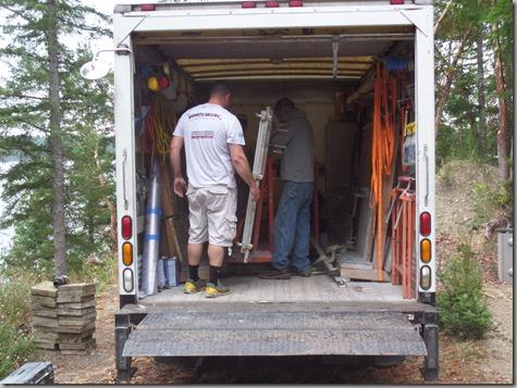 Granite truck arrives 8-12-14