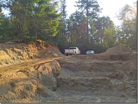 Excavation - terraces 8-23-14