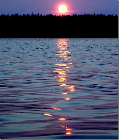 Rich's Harstine Sunset 8-21-14
