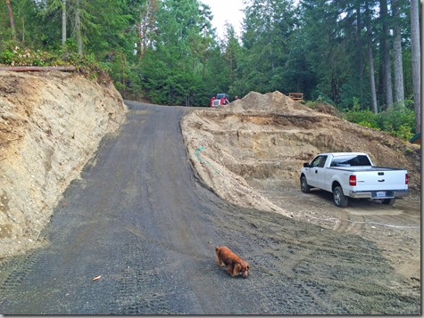 New Driveway-3 8-31-14