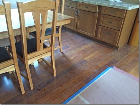 Dining Room Construction Dust 11-8-14