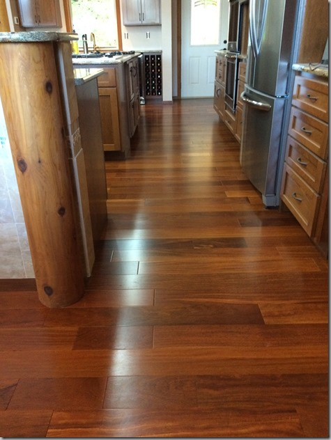 Gleaming Kitchen Floors 11-8-14