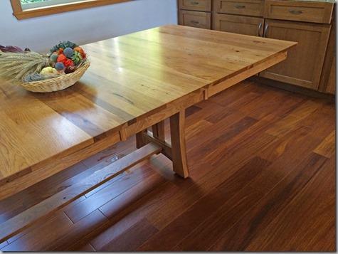 Dining Room Floor - Much Better 11-8-14