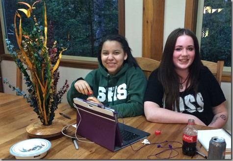 Michelle and Jessica 5-2-15