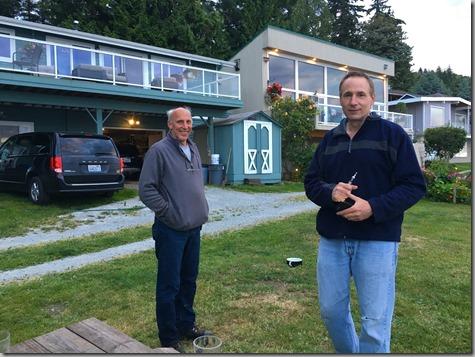 John and Dave at Camano 7-10-16