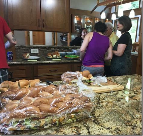 Cousins Picnic Sandwich 7-30-16