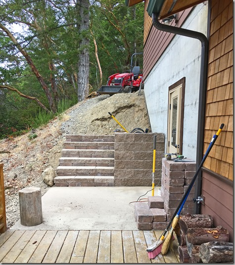 Deck Steps-2 9-5-16