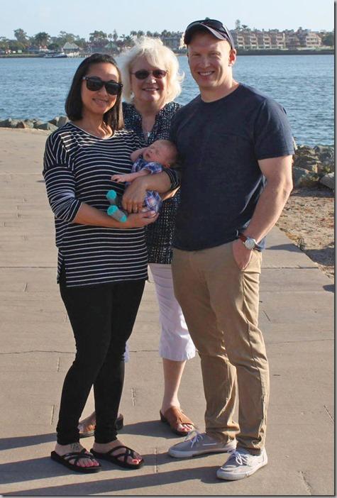 Sandra Quinn Tonya and Nate at Seaport Village 10-3-17