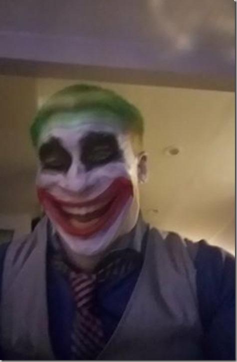 Quinn's Dad on Halloween 2017