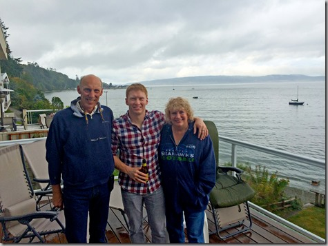John Nate and Tonya at Camano 9-2-14