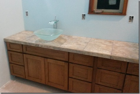 Master Bathroom Tile 10-8-14