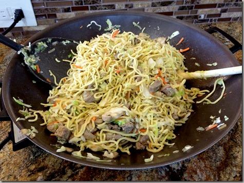 Added Yakisoba Noodles