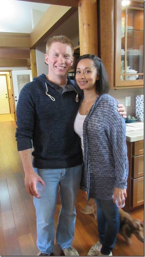 Nate and Sandra at Party 10-17-15