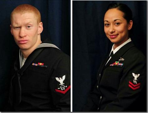 Nate and Sandra Navy