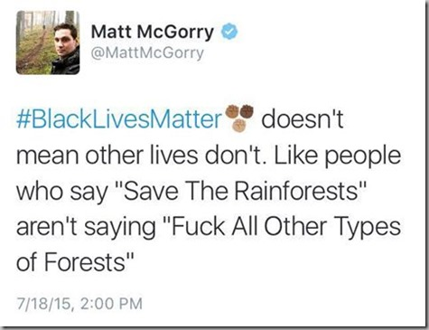 BLM and Rain Forests