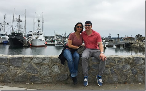 Sandra and Nate at Seaport 6-4-17
