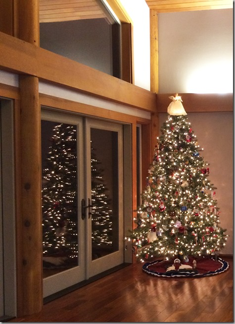Decorated Christmas Tree 11-28-14