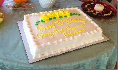 Dad's 80th Birthday Cake 6-20-15