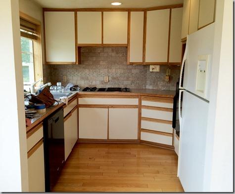 Empty Des Moines Tiny Kitchen 8-12-15