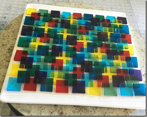 Glass Project New Colors Pre-Fire 8-29-16